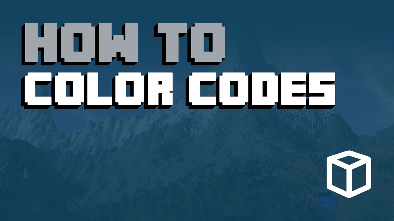 Minecraft Color Codes Overview and Examples