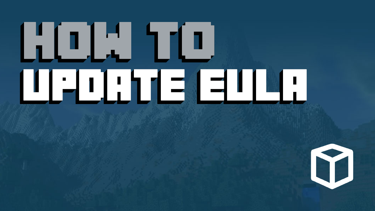 How to update eula