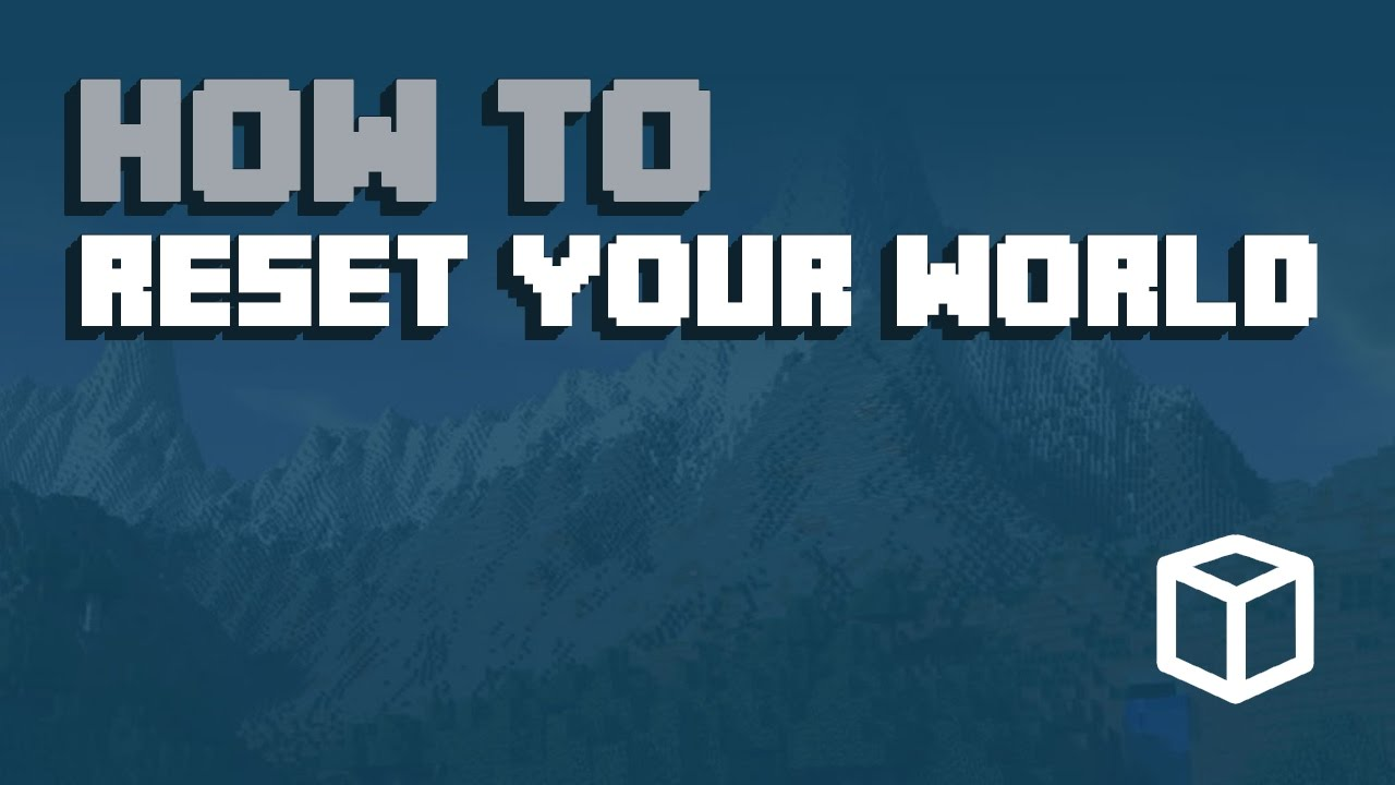 How To Reset Your Minecraft World & Start on a New World