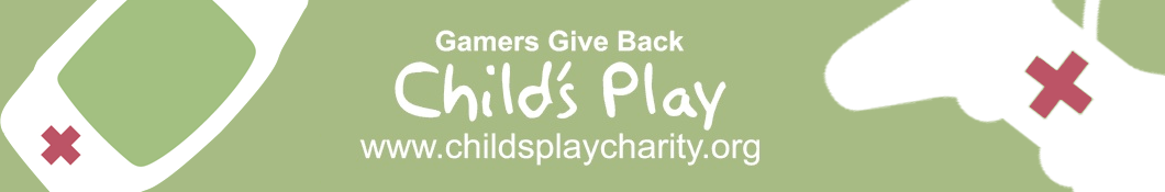 Childs Play Charity website