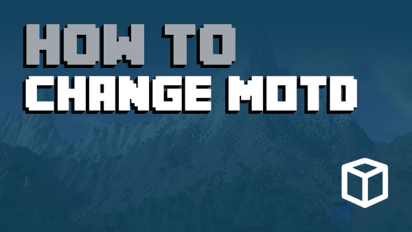 How To Change the MOTD on Your Minecraft Server