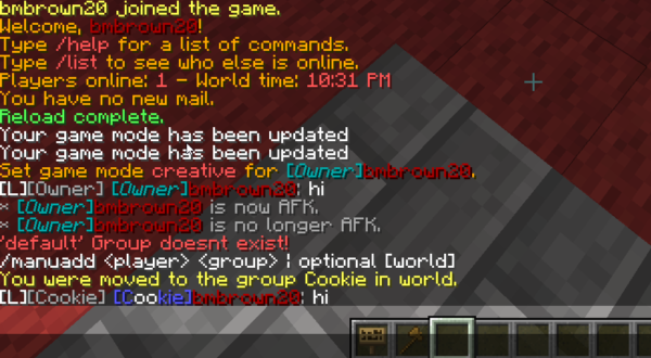 minecraft-chat-formatting