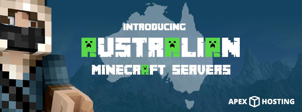 Minecraft Servers Australia