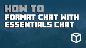 Chat Formatting with Essentials Chat