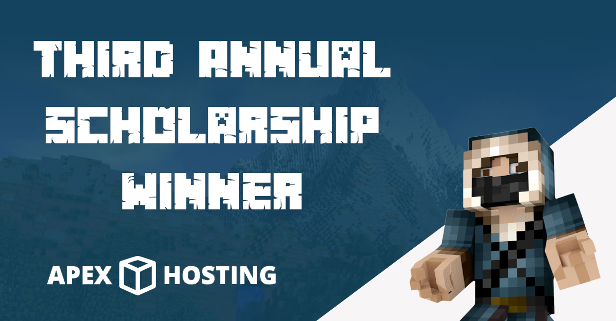 Third Annual Scholarship Winner