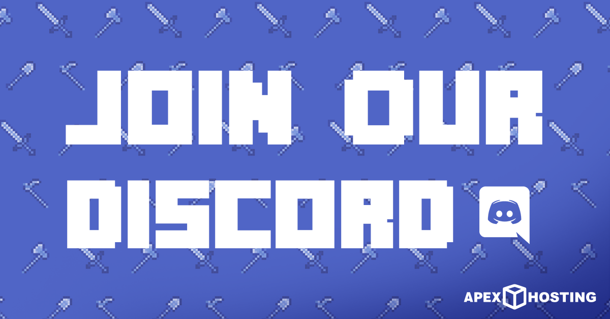 Checkout our Apex Discord Server