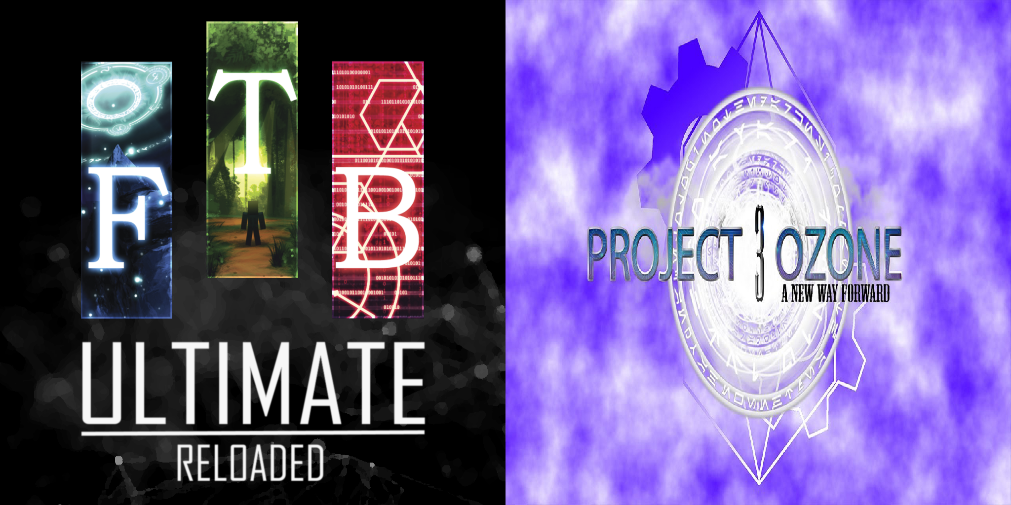 FTB Ultimate Reloaded and Project Ozone 3 Now Available!