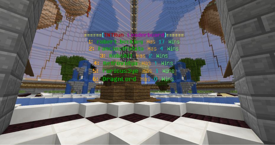 Start A TNT Run Server in Minecraft - TNT Run Server Hosting