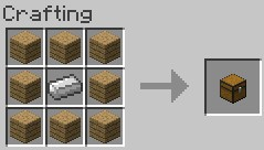 chest crafting recipe