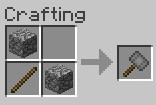 hammer crafting recipe