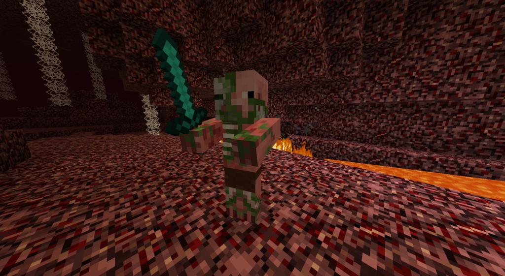 minecraft alpha pigman
