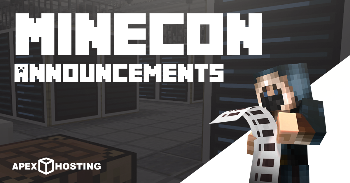 Minecon Live 2019 Announcements