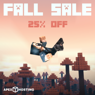FALL 25% OFF Sale