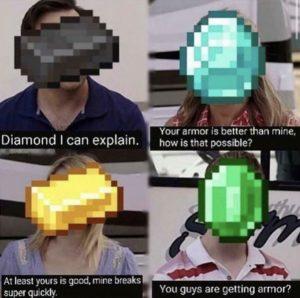 netherite meme