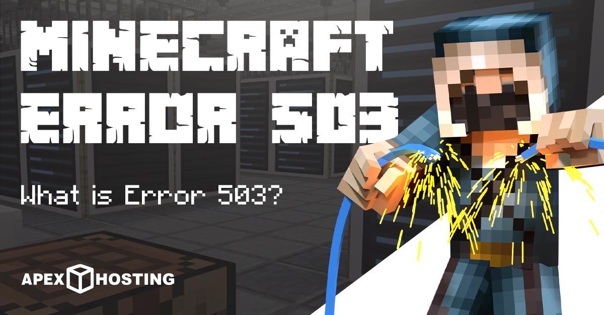 Minecraft Error 503