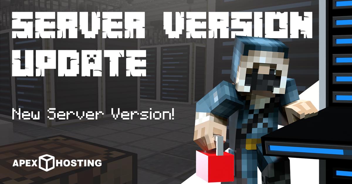 Server Version Update