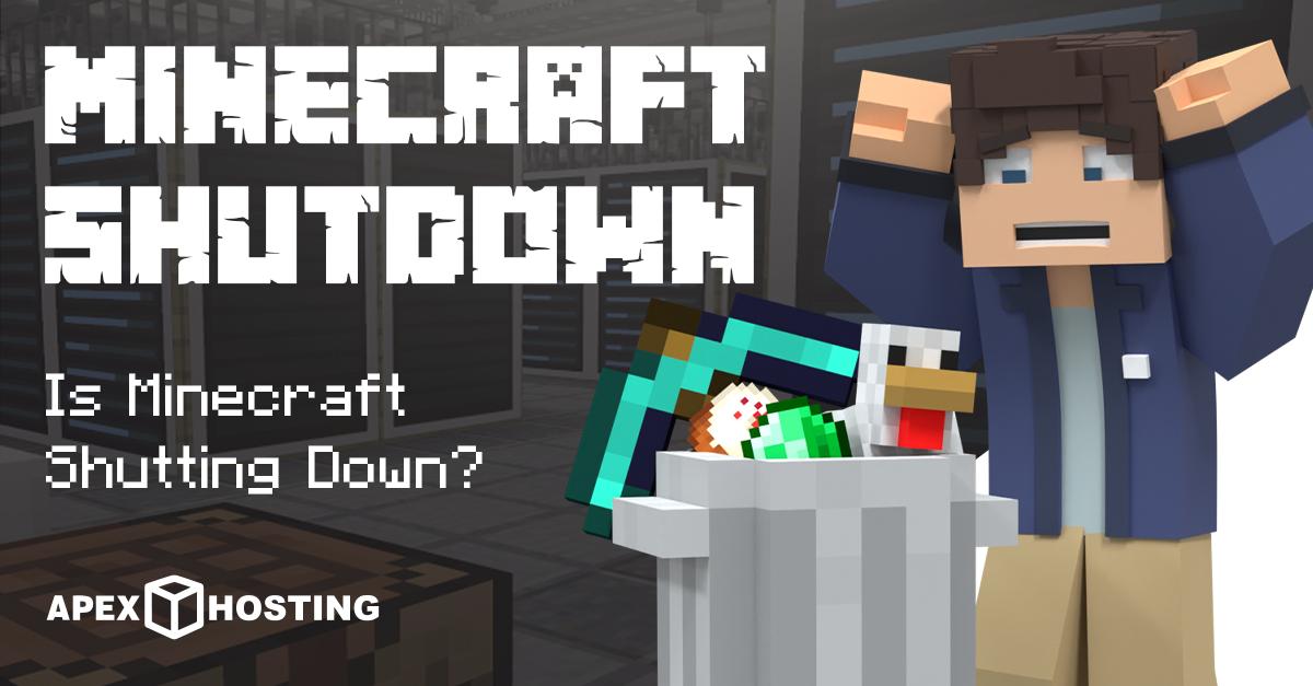 Is Minecraft Shutting Down